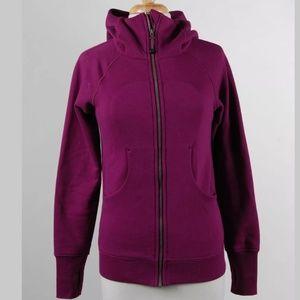 Lululemon Magenta Scuba IV Jacket Size 6